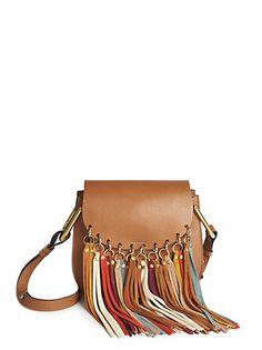 ef756d2109c8 Hudson Small Tasseled Leather Crossbody Bag