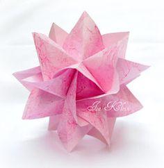 Instruções Origami, Origami And Kirigami, Origami Ball, Money Origami, Modular Origami, Paper Crafts Origami, Origami Design, Origami Stars, Paper Crafting
