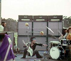 Jimi Hendrix 1970 Maui Hawaii Concert Photo