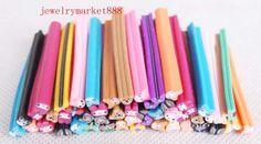 wholesale Polymer Clay Fimo Cane Kawaii Nail Art by zlala959, $7.98