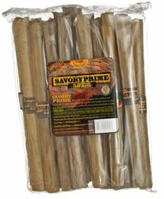 Savory Prime Press Roll Tasty Dog Chewable Natural Pet Chew Treats 10in 20pk