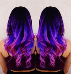 Mermaid hair Unicorn hair Rainbow hair by Toni Rose Larson @colordollz Pink hair...