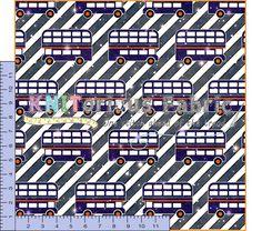 *Pre-Order* Starry Night *Bus* Night Bus, City Photo, Fabric, Prints, Tejido, Tela, Cloths, Fabrics, Tejidos