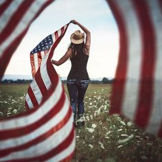 Image uploaded by Dee. Find images and videos about usa, america and country on We Heart It - the app to get lost in what you love. American Pride, American Women, American Flag, American Girl, I Love America, God Bless America, Awesome America, 11 September 2001, We Heart It