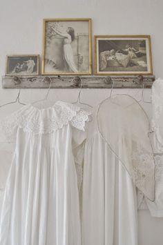 Gamla dopklänningar