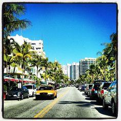 Ocean Drive in Miami Beach, FL