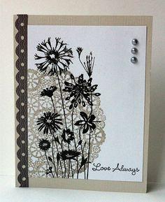 Judy's Card Corner - Hero Arts Love and Lace