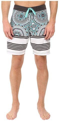 "VISSLA Suicides 4-Way Stretch Boardshorts 18.5"" Men's Swimsuits, Swimwear, Boardshorts, Stretches, 18th, Trunks, Fashion, Bathing Suits, Drift Wood"