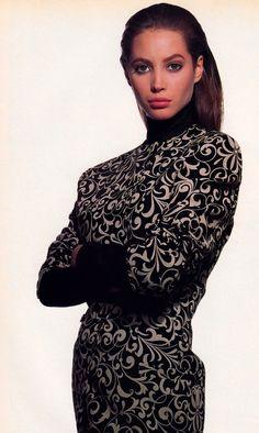 Versace, Harper's Bazaar, September 1988.