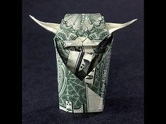 Money Origami Yoda