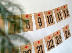 Christmas Calendar diy kit advent calendar kit by renna deluxe Christmas Calendar, Printable Christmas Cards, Diy Advent Calendar, Calendar Ideas, Calendrier Diy, Chocolate Advent Calendar, Days To Christmas, Christmas Ideas, Bricolage