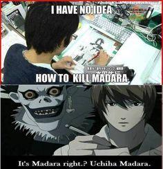 Madara - Naruto - Manga - Anime - LOL