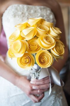 17 Easy To Make Wedding Paper Crafts