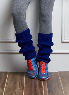 Fitness - Polaina Mollet Azul
