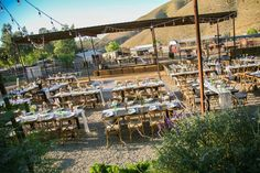 Down at the ranch for a truly authentic themed rustic wedding! Wedding Rustic, Farm Wedding, Wedding Reception, Ranch Style, The Ranch, Receptions, Orange County, Green And Gold, Weddingideas