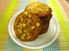 , Rum Cookies with Macadamia Nuts and Butterscotch Chips