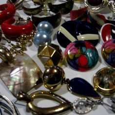 Colorful Assorted Junk Jewely