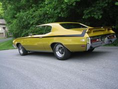 LegendaryFinds - Awesome hot rods and muscle cars from around the web! Old Muscle Cars, American Muscle Cars, Grand National Car, Buick Gsx, Buick Cars, Buick Skylark, Ford Maverick, Classy Cars, Performance Cars