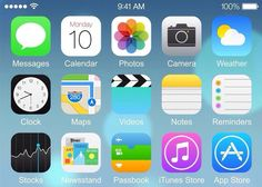 Does this leaked image show iOS 8 on the iPhone 6?
