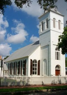 1832 Old Christ Church Downtown Pensacola, FL.  One of the oldest Churches in FL.