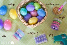 Great Easter idea! Turn leftover plastic eggs into music shakers.