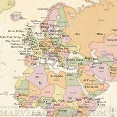 "This ""Rude Map Of World Place Names"" has every filthy place name in the world 
