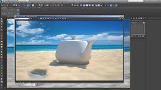 Como simular arena de la playa de una forma sencilla y con buen resultado. Como usar VrayDistanceTex para modificar la superficie de la arena basandonos en objetos…