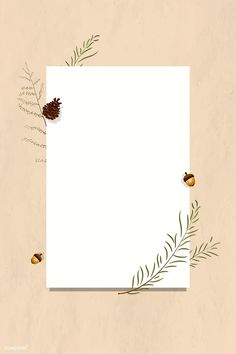 Blank rectangle autumn frame vector, 4k iphone and mobile phone wallpaper | premium image by rawpixel.com / Aew Blank Background, Flower Background Wallpaper, Flower Backgrounds, Wallpaper Backgrounds, White Background Plain, Instagram Frame Template, Photo Collage Template, Polaroid Frame, Framed Wallpaper