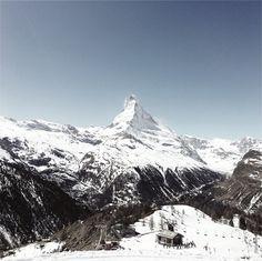 Matterhorn by in Zermatt, The Rock, Mount Everest, Rocks, Mountains, Craft, Nature, Travel, Beautiful