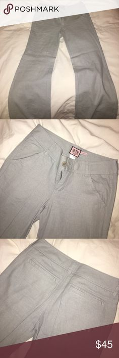 Selling this Juicy Couture Linen Pants on Poshmark! My username is: annalindberg23. #shopmycloset #poshmark #fashion #shopping #style #forsale #Juicy Couture #Pants