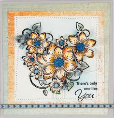 Heartfelt Creations 'Sun Kissed Fleur' cards in watercolour...... Wednesday 1st Jan 2014 DT Reveal