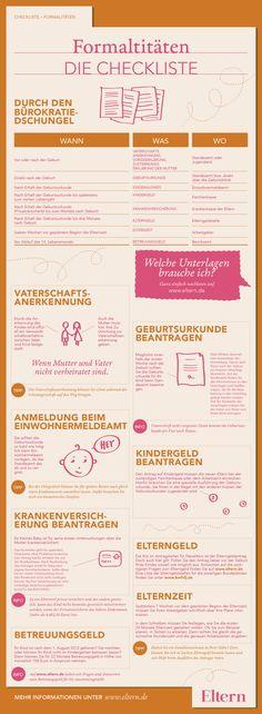 Habt Ihr auch an alles gedacht? Bei ELTERN findet Ihr alle Antworten auf Eure Fragen! www.eltern.de