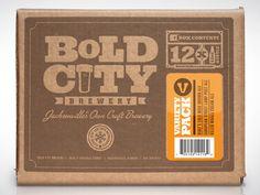 Bold City Brewery 12-pack box by Kendrick Kidd