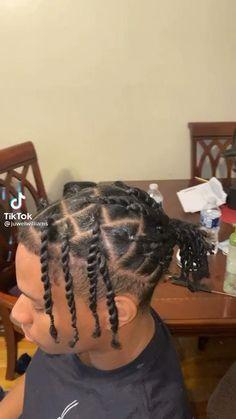 Boy Braids Hairstyles, Dreadlock Hairstyles For Men, Dreadlock Styles, Twist Braid Hairstyles, Natural Hair Care, Natural Hair Styles, Long Hair Styles, Hair Twist Styles, Braids For Boys