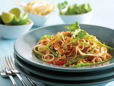 Pad Thai au thon recette de Clover Leaf