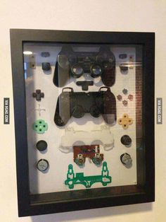 Video Game Art..!...I might do this when the controller breaks