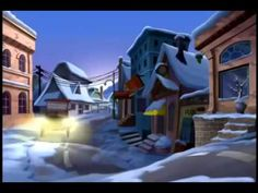 Nueve perritos de navidad 1parte 9 dog xmas  1part Animated Christmas adventure. Just two days before Christmas, Santa's reindeer come down with the notorious North Pole flu, and he is left with nobody to fly his sleigh. In the hope of finding replacements, Santa sends his head elf Buzz (voice of Scott Hamilton) to New York, where he stumbles across a ragtag travelling circus of misfit dogs whom he brings back to the North Pole for flight training. On Christmas Eve the dogs' greedy owner ste