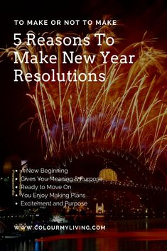 10 Reasons To Make .or Not To Make New Year Resolutions Year Resolutions, You Meant, New Beginnings, How To Plan, How To Make, Something To Do, Colour, News, Happy