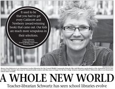 Teacher Librarian Schwartz has seen libraries evolve https://news.universal-info.com/article.php?action=download&article_id=1654098&key=fce64415715dd4b64ae32b90190c4520&profile_id=160&highlight_text=true
