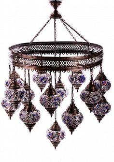 Светильник Мозаика на 15 плафонов 15105