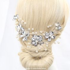 Imitation Pearls Wedding/Special Occasion Wedding Headpieces  - USD $ 8.99