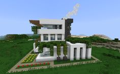 minecraft modern house HD Wallpapers Download Free minecraft modern house Tumblr - Pinterest Hd Wallpapers