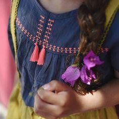 Daisy Linen & Cotton Top | Louise Misha