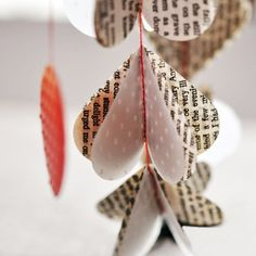Jane Eyre Love Paper Mobile