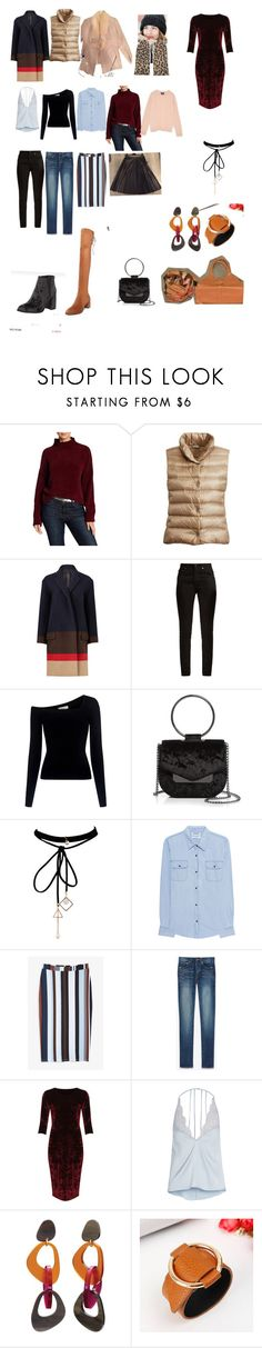 """Глубокая осень Перевернутый треугольник"" by r-v-koroleva on Polyvore featuring мода, Abound, Yves Saint Laurent, A.L.C., Nasty Gal, WithChic, OneTeaspoon, Monki, WearAll и Fleur of England"