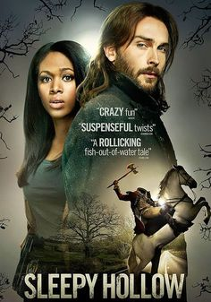 Sleepy Hollow- one of my new favs, especially because Nicole Beharie is on it. Love her!