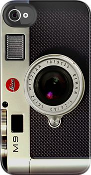 Made in USA, Great Case, Sharp image & Fast Shipping. Leica M9 camera iphone 4 4s, iPhone 3Gs, iPod Touch 4g case