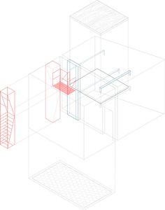 Metal Staircase by Francesco Librizzi Studio graphics
