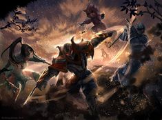 Akali, Zed, Kennen and Shen League of Legends Akali League Of Legends, Lol League Of Legends, Game Wallpaper Iphone, Star Wars The Old, Star Wars Sith, Star Wars Images, The Old Republic, Science Fiction Art, Sci Fi Fantasy