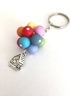 This article is not available - Arthur Marlow Disney Keychain, Clay Keychain, Diy Recycling, Beaded Jewelry, Handmade Jewelry, Diy Schmuck, Polymer Clay Crafts, Beads And Wire, Bead Art